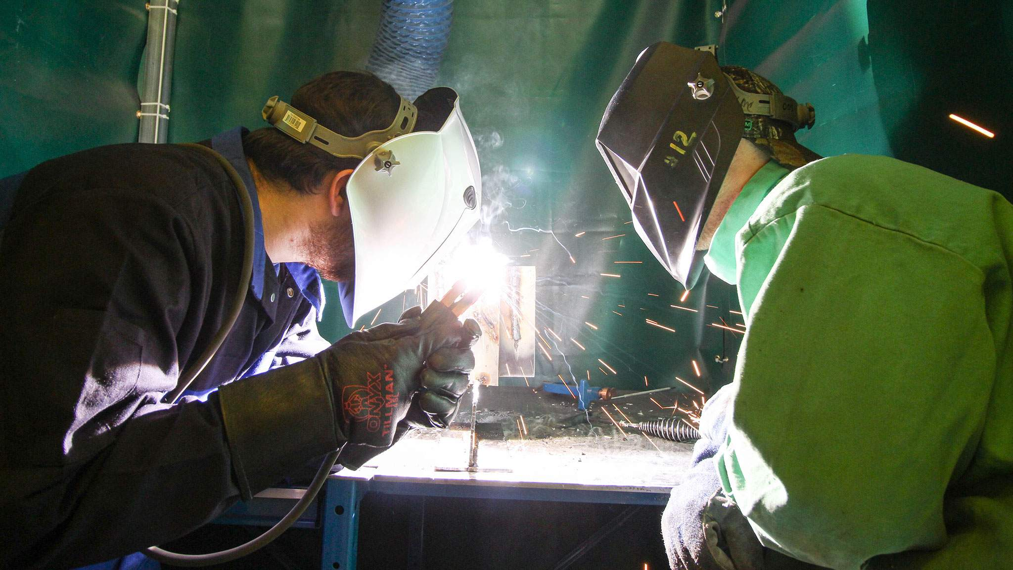 Welding at the Hanson Technology Center