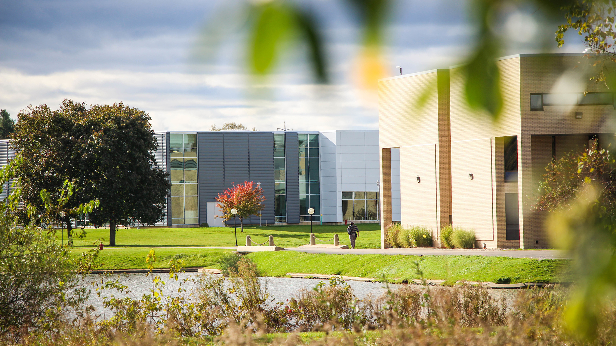 Benton Harbor campus view from the north