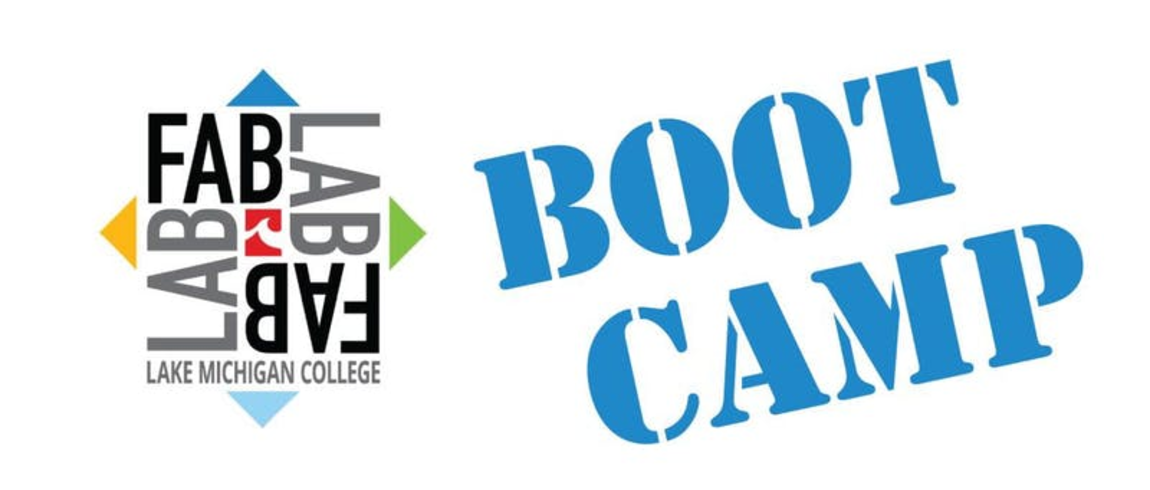 Fab Lab boot camp logo