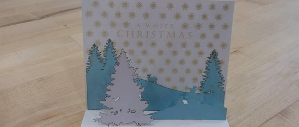 Fab Lab: Create Your Own Pop Up Christmas Cards   Lake Michigan College