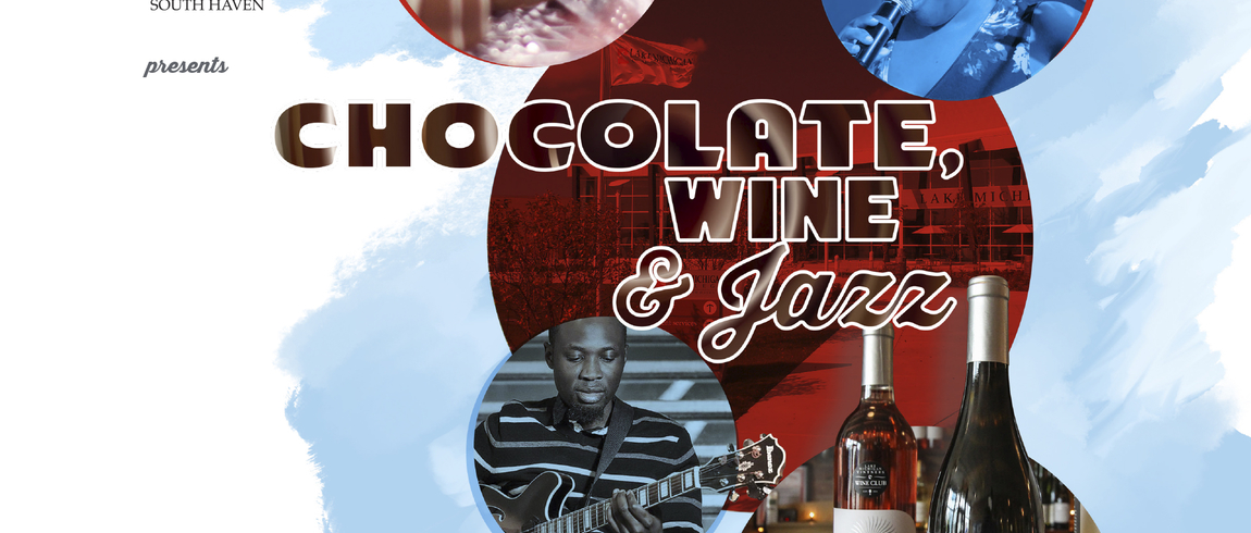 Chocolate, Wine & Jazz logo