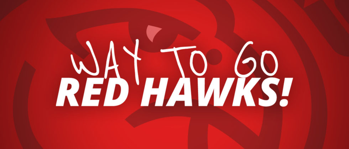 Way to go Red Hawks