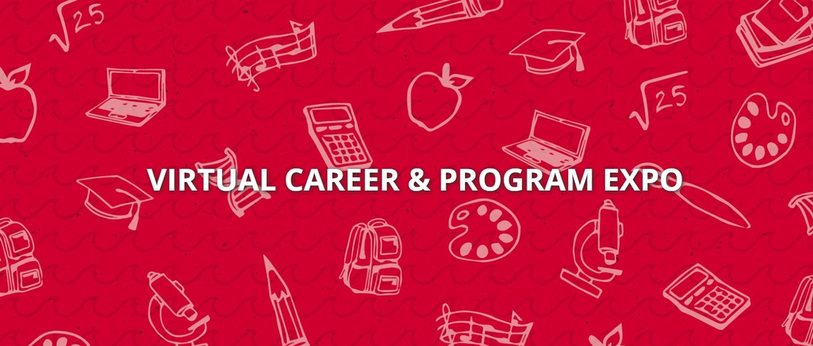 Virtual Career & Program Expo logo