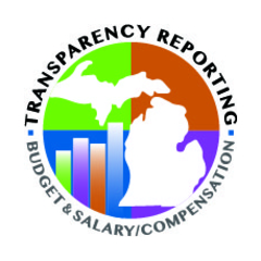State of Michigan transparency reporting mark